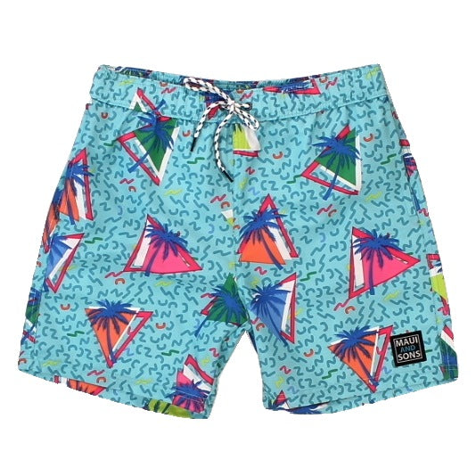"Men's ""Wreck It"" Pool Shorts"