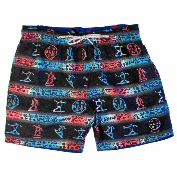 Point Break Reversible Swim Shorts