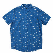 "Mens ""Shark Party"" Woven Shirt"