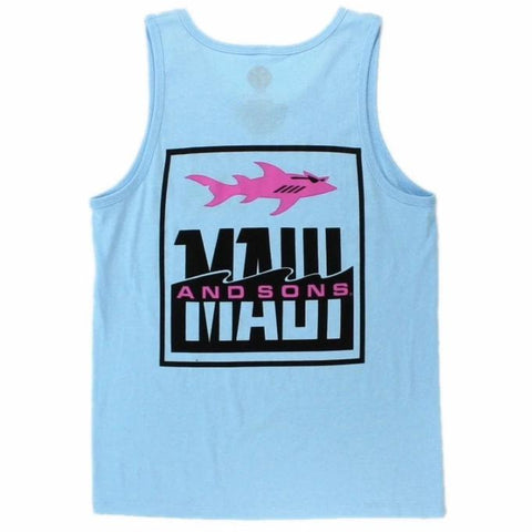 Pastel Fish Out Of Water Tank Tops