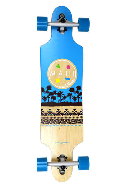 Native Surf Drop Through Skateboard