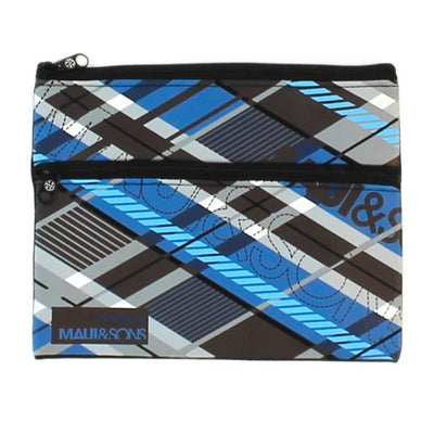 Geometric Neoprene Pencil Case