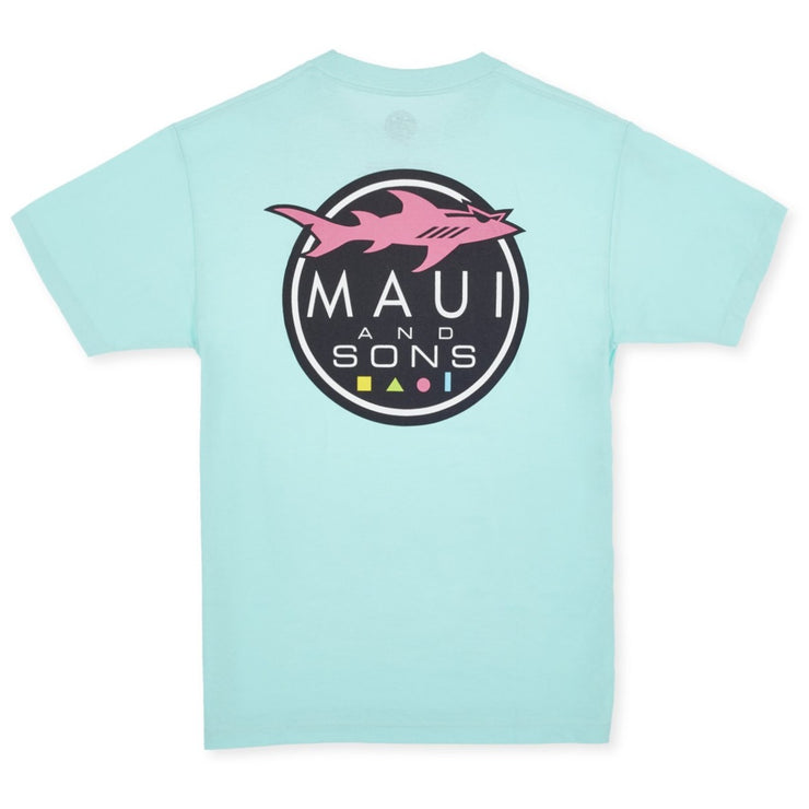 Pastel Shark Logo T-Shirt