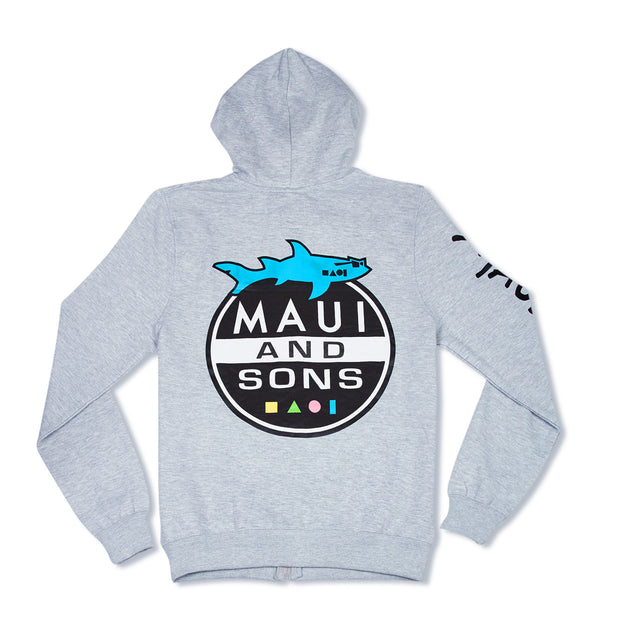 Shark Attack Men's Hoodie