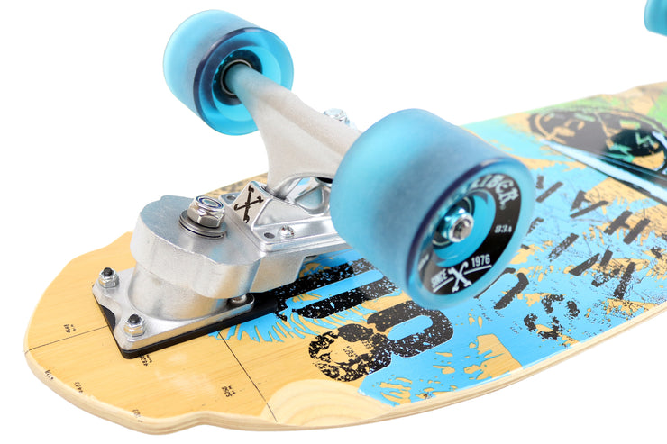The Shark Surfer Carver Cruiser