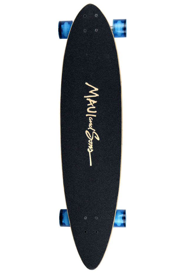 Shark Warning Skateboard