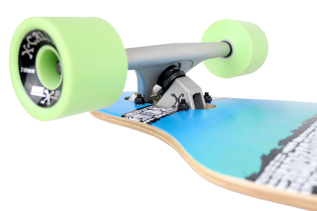 Shave Ice Drop Through Skateboard