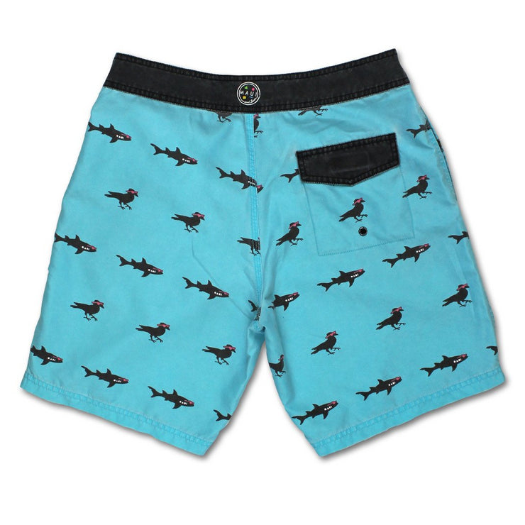 Sharks & Crows Mens  Boardshorts