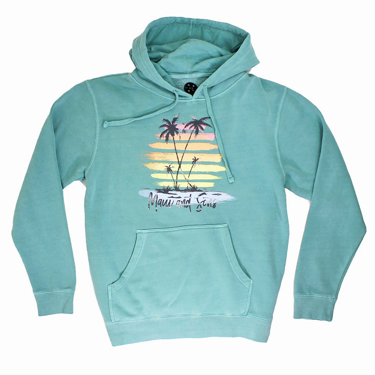Endless Sunset Unisex Midweight Pigment Dyed Pullover Hoodie