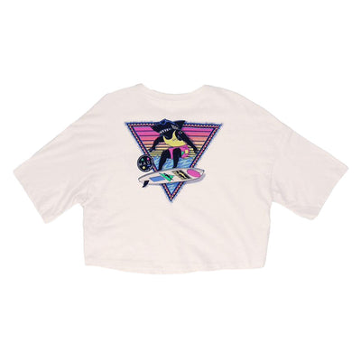 Arnold Shreddin' Women's Jersey Crop Tee