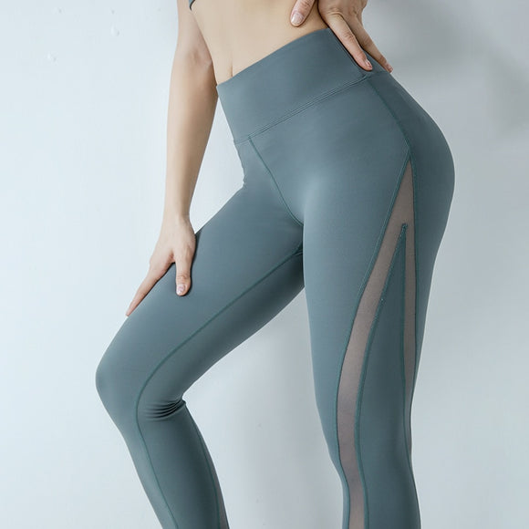 Women Fitness Leggings Sweat-proof Sport Athletic Tights Yoga Pant Active-wear Gym workout