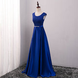 Prom Dresses A-Line Floor-length Long Formal Dress Evening Gown Robe  Plus Size