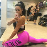Women Workout Leggings High Elasticity Fitness Slim Breathable High Waist Fitness Leggings