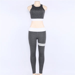 Women Sport Yoga Set Gym Fitness Suit Female Summer Running Sportswear Set Workout Clothes
