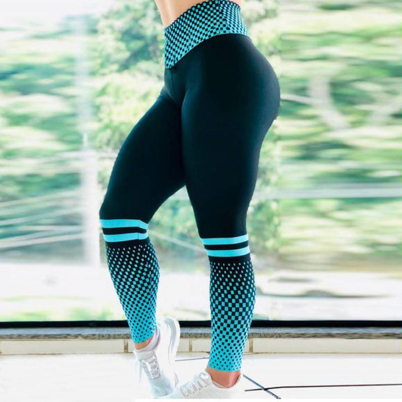 Women Yoga Leggings Sport Fitness Digital Printing High Waist Female Yoga Pants Seamless Leggings