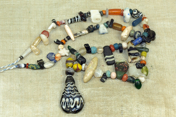 Afghan Strand with Ancient Beads