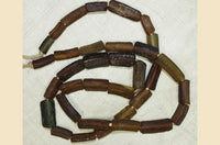 Antique Dark Rootbeer Glass Beads