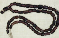 Ancient Purple colored Glass Beads