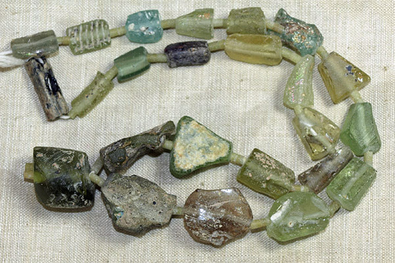 Ancient Roman Glass Beads from Afghanistan