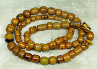 Antique Afghanistan Amber Prayer Beads