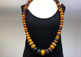 HUGE strand of Antique Mauritanian Amber Bead Necklace