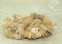 Ancient Quartz Disc Beads from Lou Zeldis Collection