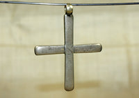 Antique Silver Coptic Cross from Ethiopia