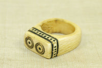 Antique Massai Ivory Ring from Kenya