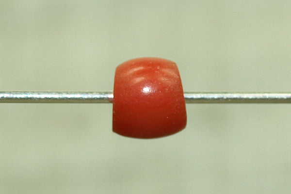 Natural Coral Yemen Beads, 4mm long