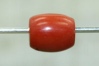 Natural Coral Yemen Bead, 5mm Long