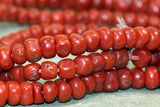 Strand of Rare, Antique of A-1 Quality Nigerian Coral Beads
