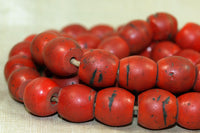 Strand of Sherpa Coral Beads from Nepal