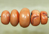 Five Lovely Vintage Afghan Pink Coral Beads