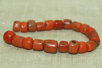 Small Strand of Antique Berber Red Coral Beads