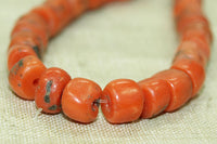 Small Strand of Rare Berber Red Coral Beads