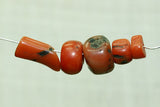 Collection of Rare Berber Red Coral Beads