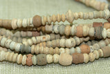 "Egyptian Terra-Cotta ""Mummy"" Beads"