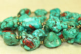 Incredible Tibetan Turquoise Prayer Necklace