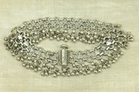Antique Silver Anklet from India