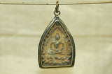 Small Ceramic Buddhist Pendant from Thailand