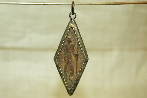 """Walking Budddha"" Pendant from Thailand"