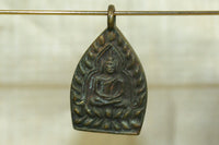 Small Brass/Bronze Thai Buddha Pendant