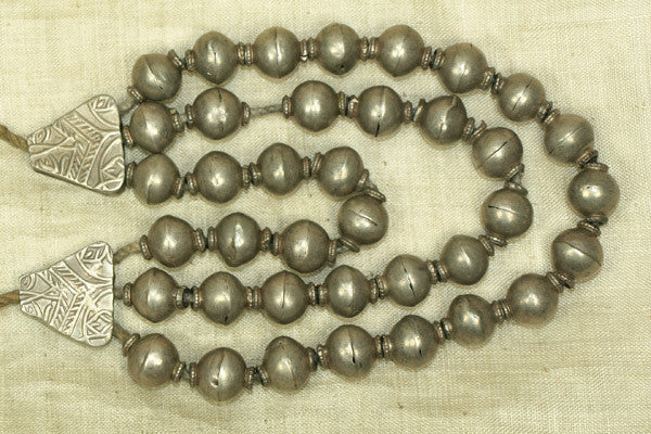 Old Silver Necklace from India