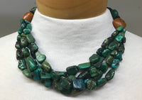 Antique Tibetan Turquoise Beads Necklace
