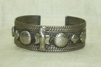 Coin Silver Cuff with Phoenix