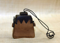 Traditional Indonesian Mini-Tobacco Palmwood Purse
