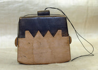 Medium Size Traditional Indonesian Tobacco Palmwood Purse
