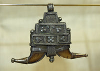 Antique Monkey Claw Pendant from Indonesia