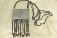 Silver Prayer Box/Pendant from Bukhara (Afghanistan)