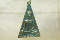 Brass Buddha pendant from Thailand